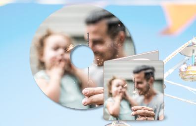 客製化光碟彩印 - 想印什麼就印什麼