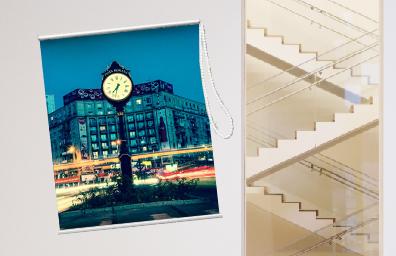 油畫布窗簾:將美好片刻化成居家裝飾!
